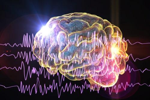 Illustration sur les impacts des ondes cérébrales