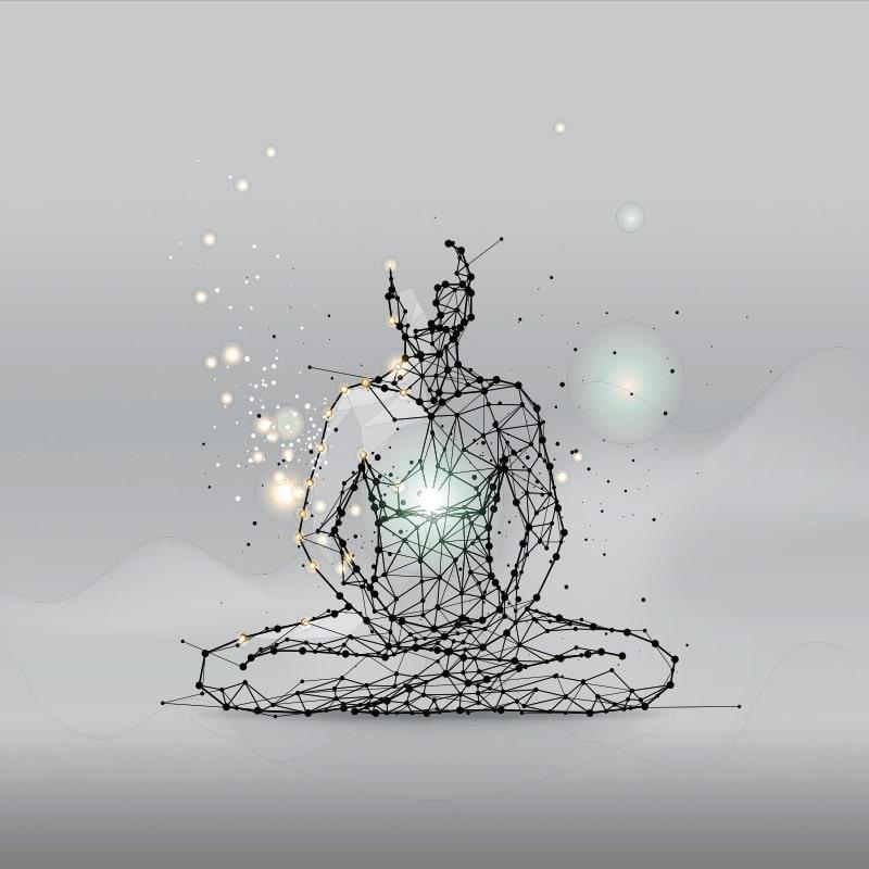Illustration de la méditation - atelier méditation avec Thipphavanh